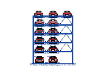 13 vehicles puzzle automated parking system