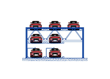 What is mechanical puzzle parking garage?